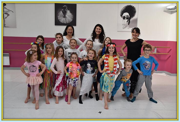 Stage danse tahitienne enfant puyricard