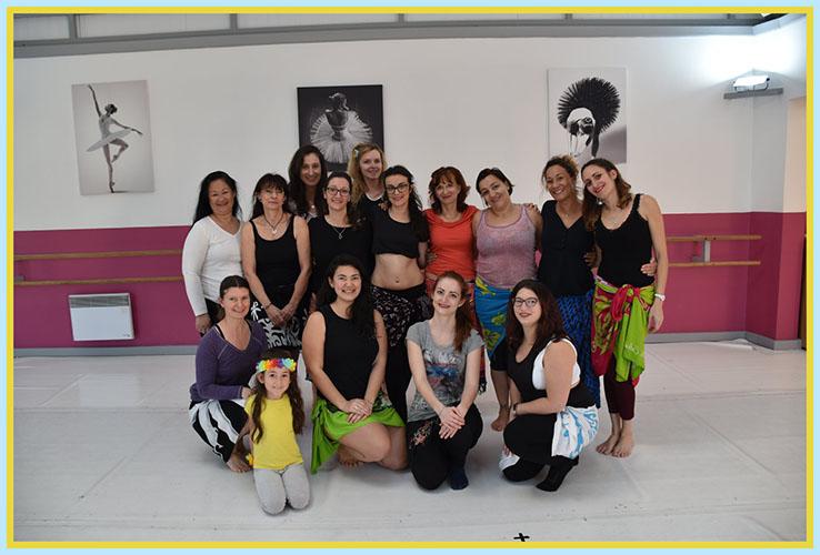 Stage danse tahitienne puyricard