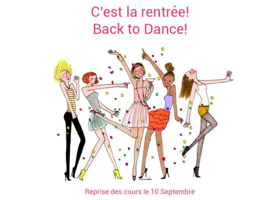 Rentrée Le Rond Point de la Danse 2018-2019 Puyricard Aix-en-Provence
