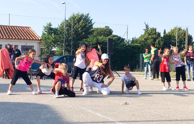 Hip-Hop Enfants au club de foot USP