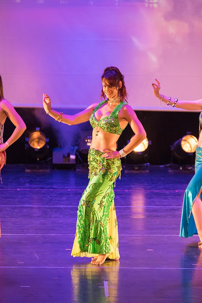 Photo de Scarlett, professeur de danse Afro Tribal et Belly Oriental