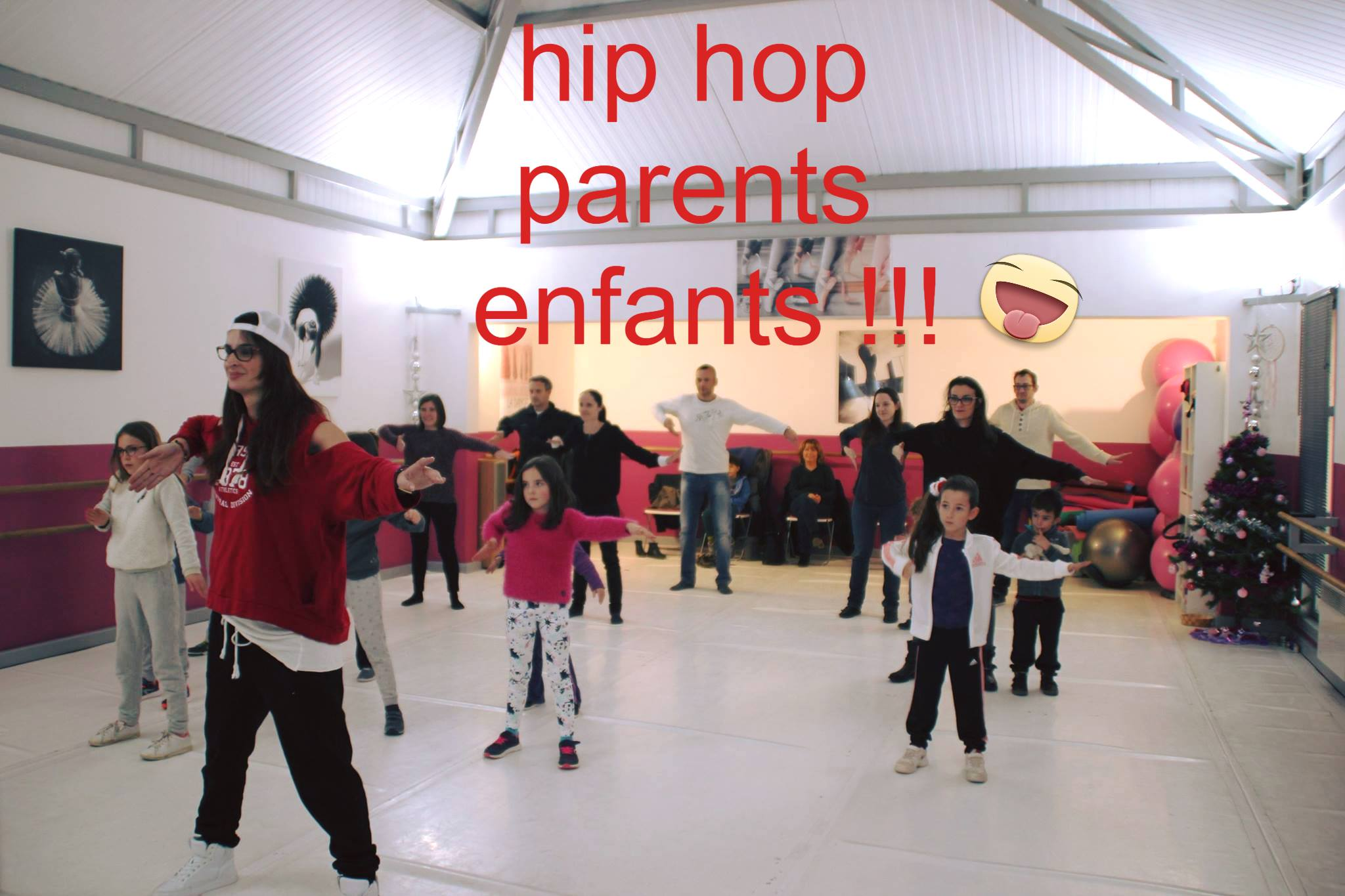stage hip-hop parents enfants puyricard