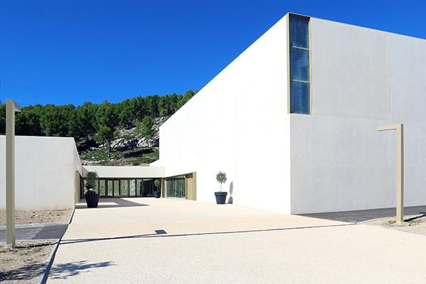 Théâtre Le Cadran d'Ensuès la Redonne - vue extérieure