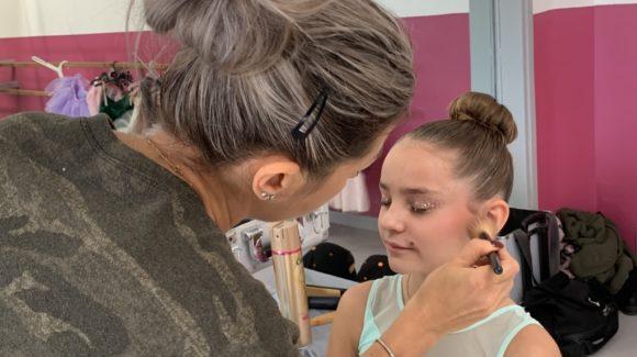 Maquillage Shooting Danse 2019